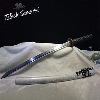 Black Samurai ดาบซามูไร katana ขนาดกลาง 78cm T10 รุ่น White Dragon