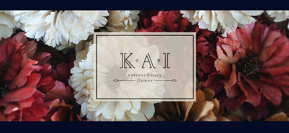ดอกไม้แห้งและดอกไม้ประดิษฐ์จากวัสดุธรรมชาติ ที่ผ่านการประดิษฐ์และความคิดสร้างสรรค์จนกลายเป็นดอกไม้แห้งในรูปแบบต่างๆ โดย Kai Flowers