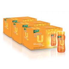 แบรนด์เจนยู เครื่องดื่มโสมจินเซนโนไซด์ เจนโปร ขนาด100ซีซ๊ จำนวน 3 กล่อง
