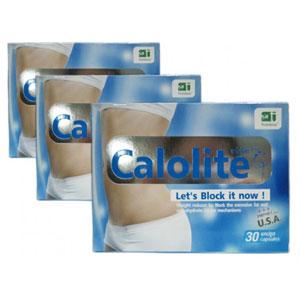 อาหารเสริมลดน้ำหนัก Calolite คาโลไลท์  ควบคุมน้ำหนัก เร่งสลายไขมันสะสมเก่า ยับยั้งการสะสมไขมันใหม่